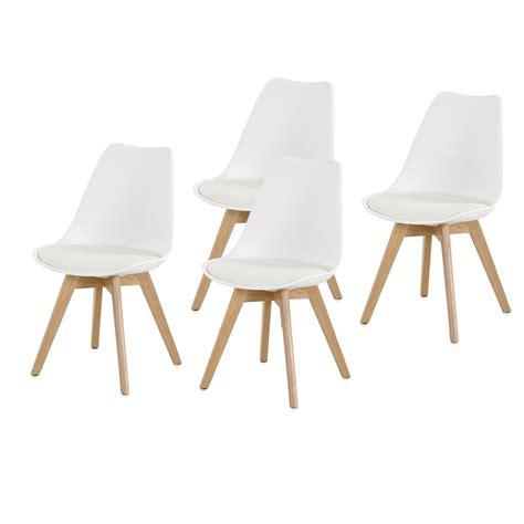 Stuhl 3 Beine by Stuhl Borkum 4er Set Esszimmerstuhl Wei 223 Kunststoff Und