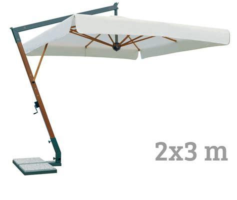 sonnenschirm sockel beton sonnenschirm scolaro 171 torino braccio natur rechteckig