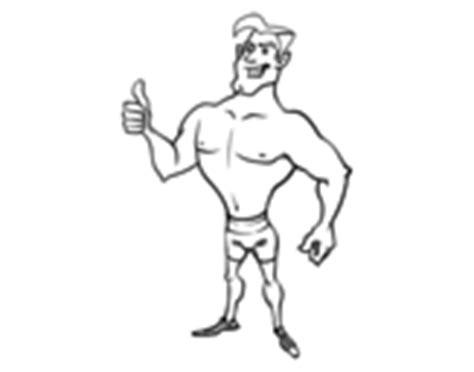 maschi in costume da bagno disegni di maschi da colorare acolore