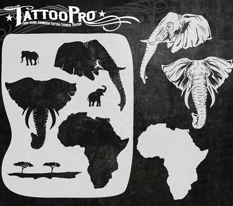 tattoo stencil paper wiki african elephant stencil