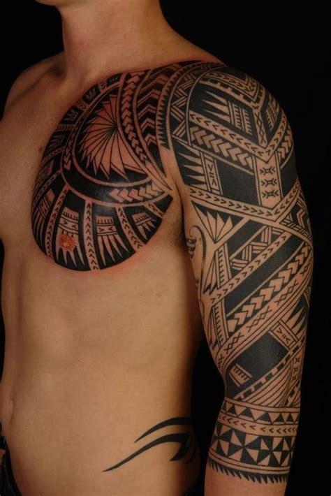 tattoo tribal no braço e ombro tatuagem maori veja 100 modelos com seus significados