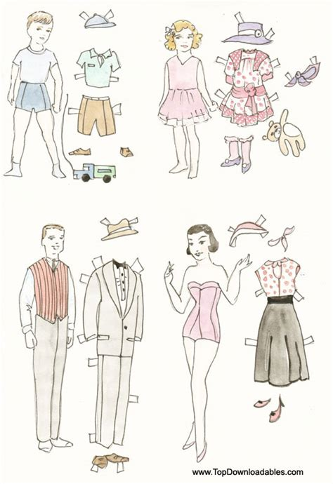 printable paper doll family printable paper doll cutouts free printable paper doll