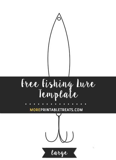 fishing lure templates pdf fishing lure template large