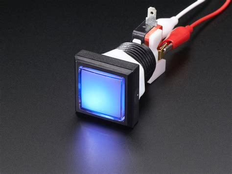 Push Button Jpbm 30mm On led illuminated pushbutton 30mm square id 491 3 95