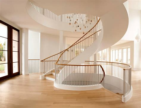 horner millwork completes amazing spiral staircase
