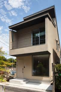 Small Home Exterior Design Small by Nakano Fireproof Wooden House By Masashi Ogihara