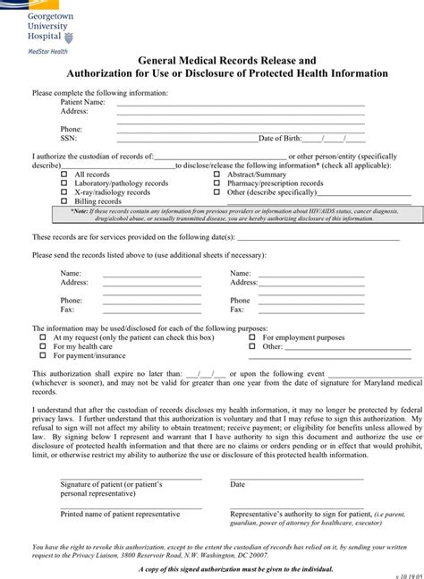 Maryland Free Records Maryland Records Release Form Free