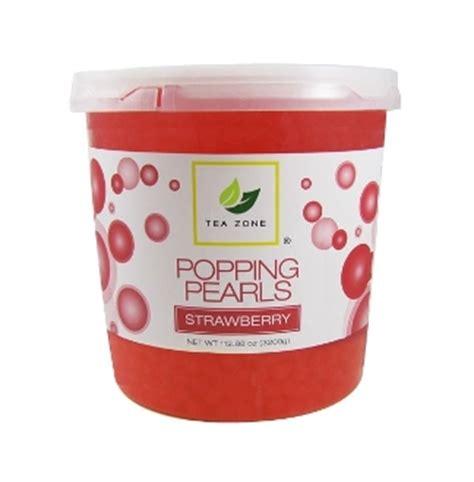frozen yogurt toppings bar equipment wholesale popping boba supplier strawberry flavor frozen yogurt toppings