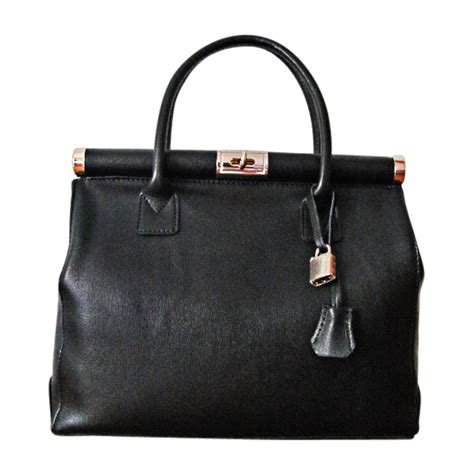 Couture Tinsley Leather Handbag by Leather Handbag Torrente Couture Black Vendu Par Sublime