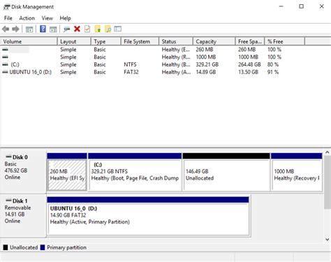 dual booting ubuntu 16 04 with windows 10 ubuntu does