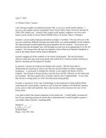 Letter Recommendation Sle Student Sle Reference Letter For Student From 25 Images Ms