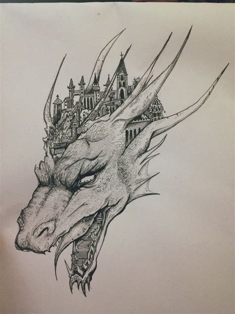 Drawing Dragons by Cool Drawings In Pencil Www Pixshark
