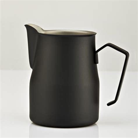 Motta Milk Jug Black 500ml motta europa milk jug black alternative brewing
