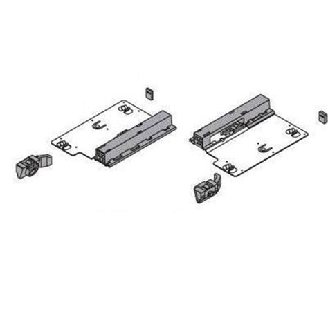 blum bt55 7150s push open tip on touch activated drawer