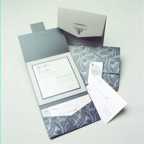 folding invitation card template unique modern wedding invitations for your big day