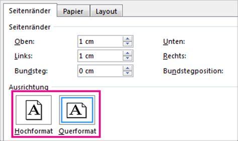 word layout querformat drehen einer seite in das quer oder hochformat in word word