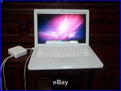 Macbook Pro A1181 apple macbook white 13 laptop 2 16ghz 1gb 120gb model
