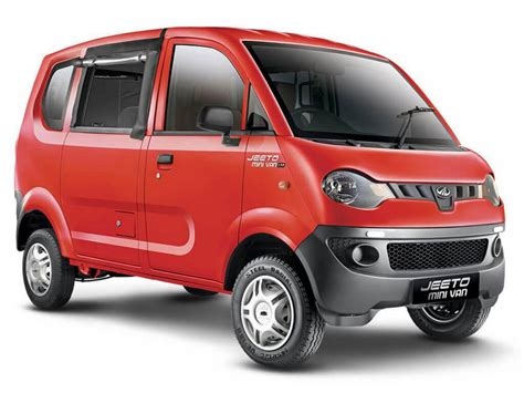 indian car mahindra mahindra jeeto minivan launched in india price specs