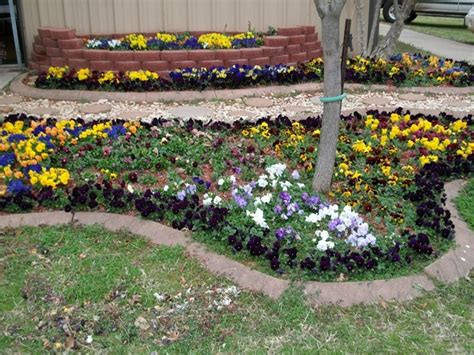 fall flower bed ideas photograph flowerbed2