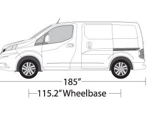 nissan nv200 template vehicle wrap templates for the nissan nv200