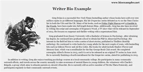 artist biography writer 13 best images about bio exles on pinterest creative