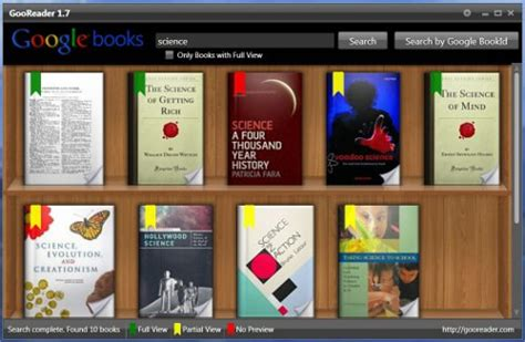 gooreader review an app for books the ebook
