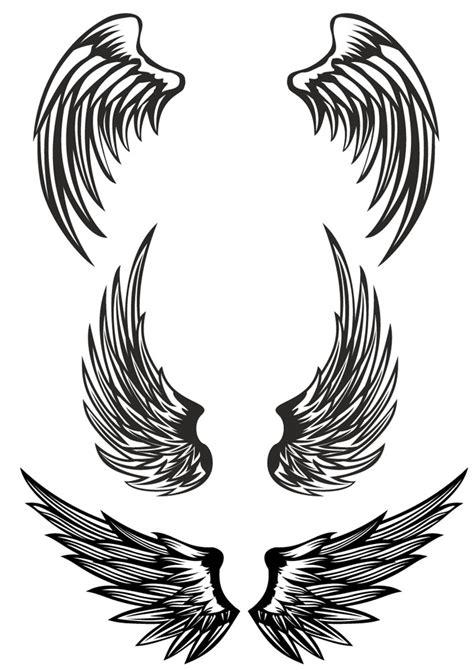矢量翅膀设计素材矢量图片 图片id 198899 其他 底纹边框 矢量素材 淘图网 taopic com
