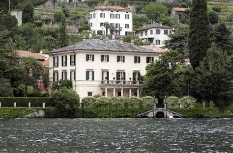 george clooney home in italy villa oleandra dream houses pinterest villas