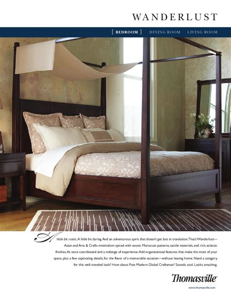 wanderlust bedroom thomasville wanderlust bedroom by cadieux company issuu