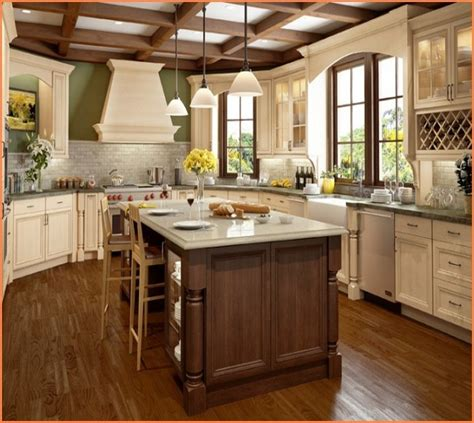 antique white kitchen cabinets home design traditional how to antique white cabinets with chocolate glaze www