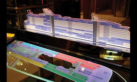 Illuminated Pedestal Oasis Of The Seas Digital Wayfinding Segd