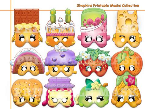 Button Shopkins 02 shopkins masks printable printable pages