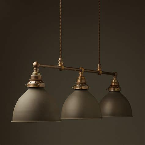 Table Pendant Lights Antique Brass Edison Billiard Table Pendant