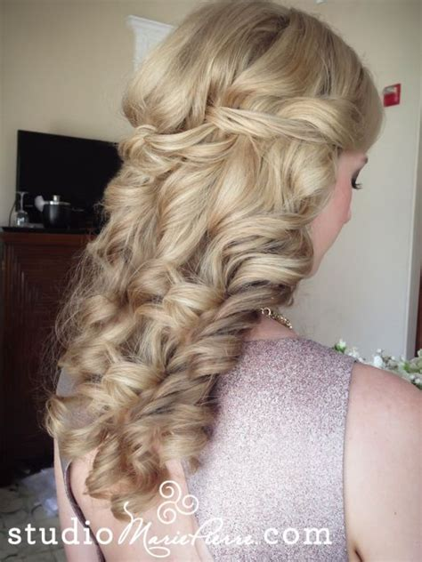 17 best ideas about partial updo on half up half prom hair and half up