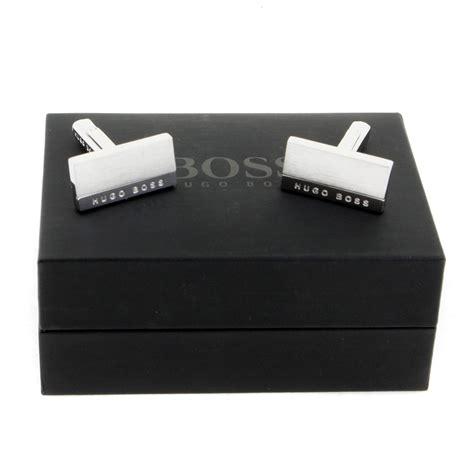 Hugo Cufflinks hugo cufflinks silver logo 50199433 boss1682 at