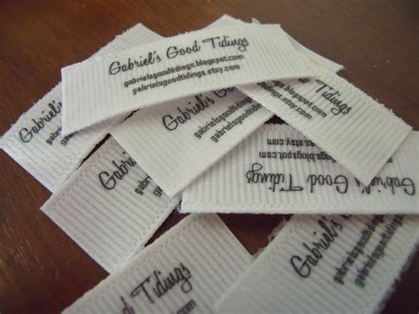 printable fabric name tags making your own labels must do diy pinterest