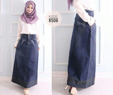 rok polos benang r506 baju style ootd