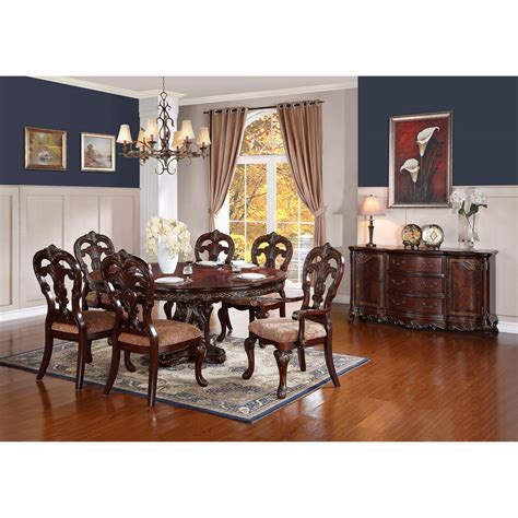 dining room groups homelegance deryn park formal dining room group wayside