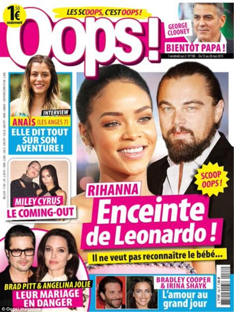 Is Rihanna Pregnant Leonardo Dicaprio Called Too Racist | oops magazine owner slams leonardo dicaprio after star