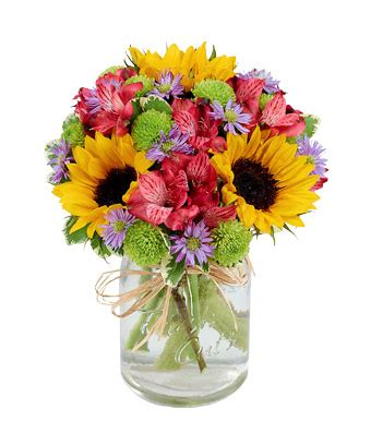 Floral Arrangement Supplies by Flower Fields Mason Jar At From You Flowers