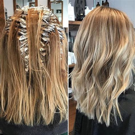 where to place foils in hair 1000 ideas about foil highlights on pinterest