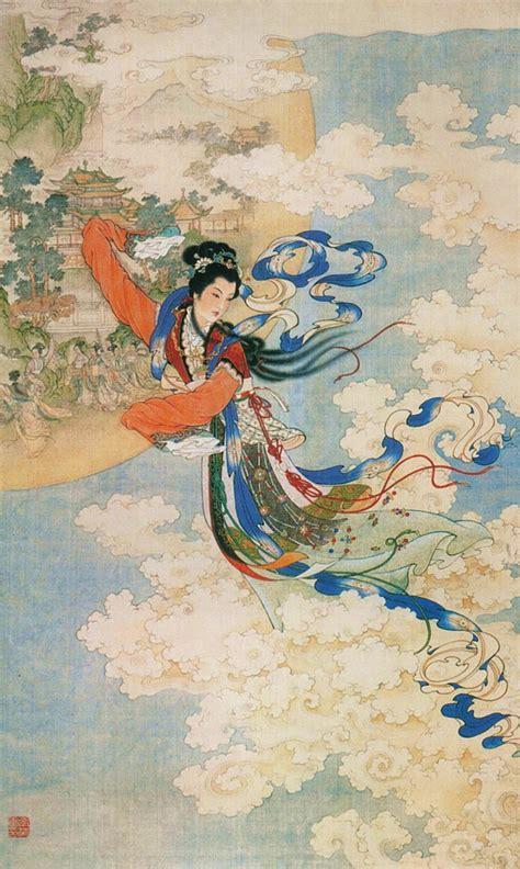 The Moon Chang E the moon festival legend asian inspirations