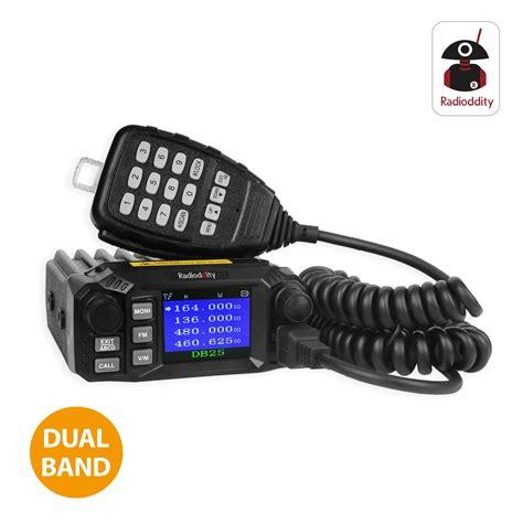 Rik Mini Dual Band radioddity db25 dual band standby mini mobile car truck radio vhf uhf 144 440 mhz 25w 10w