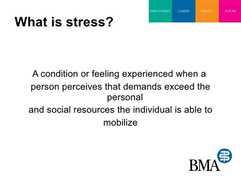 Mba Is Stressful by Stress Presentation
