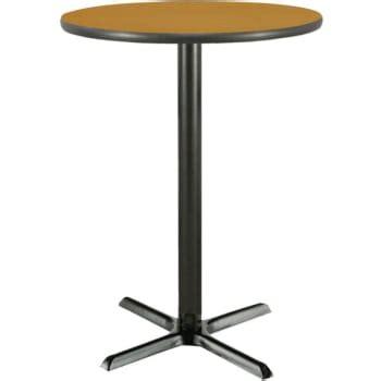 36 inch pedestal table 36 inch bar height pedestal table med oak laminate