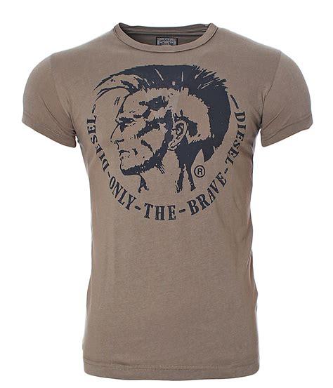 T Shirt Brave Diesel Fth diesel t shirt kurzarm achel indianer kopf logo only the