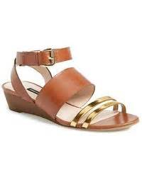 Sandal Tali Connexion cole haan air natalie opentoe wedge ballerina in gold