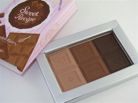 Eyeshadow Etude House etude house sweet recipe chocolate palette review