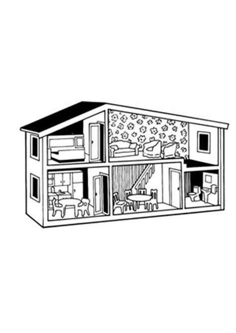 ausmalbilder puppenhaus spielsachen malvorlagen ausmalen