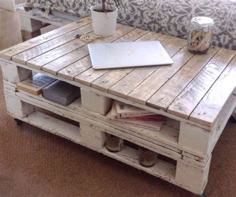 25 best ideas about wood pallet coffee table on